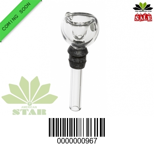 Clear thick bowl for mini Bong-VJ-967