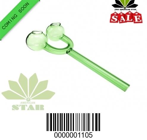 Green Color Slingshot Double bowl Oil Burner-JK-1105