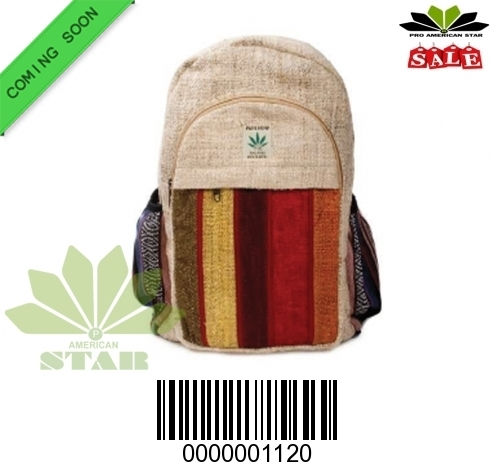 Straight Stripes Patten BackPack-NK-120