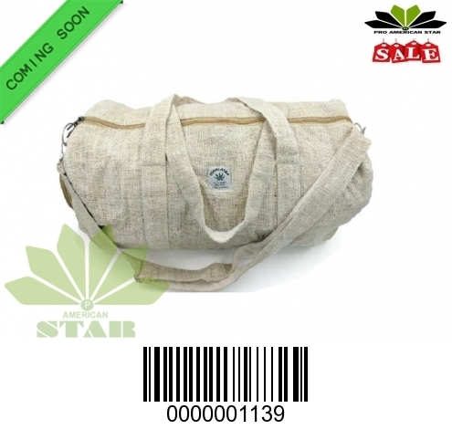 Pure Hemp hand carrying  Traveling Bag-NK-1139