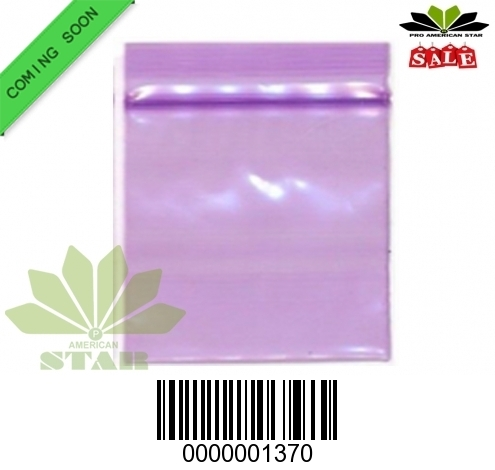 1000 CT-Mini Purple  apple  reused Ziplock baggy-CT-1370
