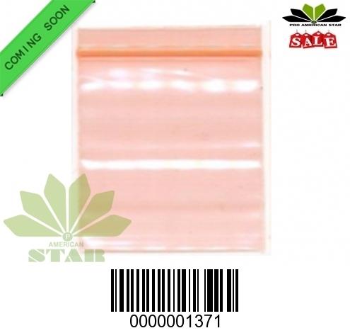 1000 CT-Mini Orange apple  reused Ziplock baggy-CT-1371