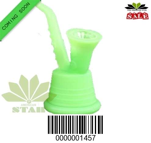 Four Inches Mini silicone Oil Rig-ancient style-JK-1457