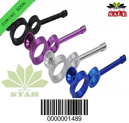 Double Circle Aluminum hand pipe-CM-1489