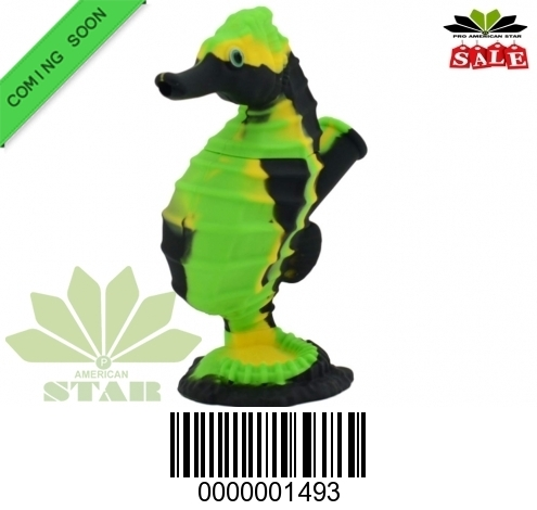 Silicone animal themed smoking pipe-JK-1493