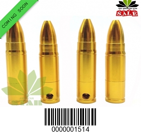 Detached Brass bullet hand pipe-CM-1514