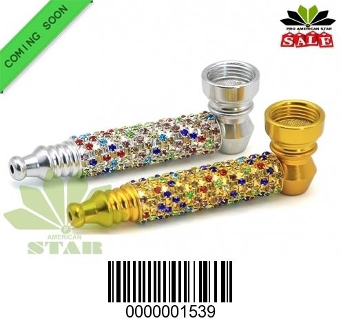 Premium Quality fancy metal hand pipe-CM-1539