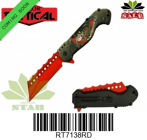 Colo Razor Knife-RT7138RD