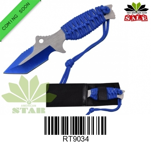 Double edge dagger with Nylon Sheath -J-9034
