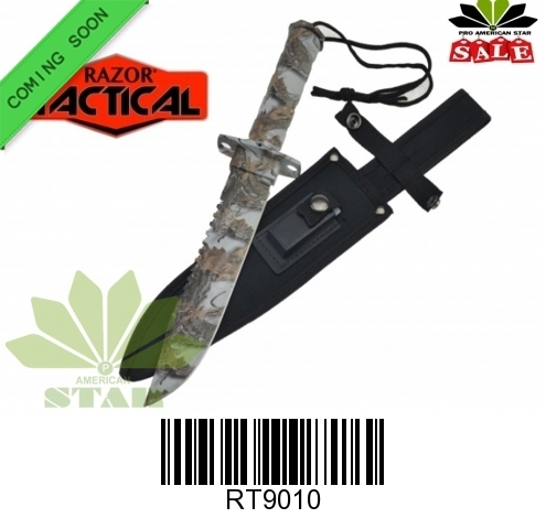 Military Commando Survival Knife with Sheath and kit-J-9010