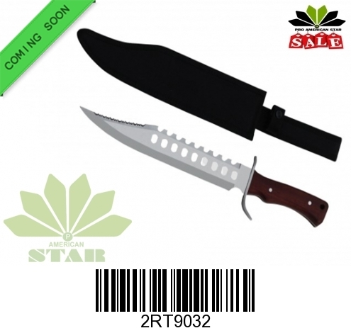 Seventeen inches Hunting knife with Sheath-J9015