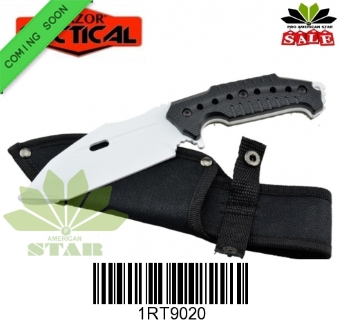 Stainless Steel hunting knife with Sheath-J-RT9020