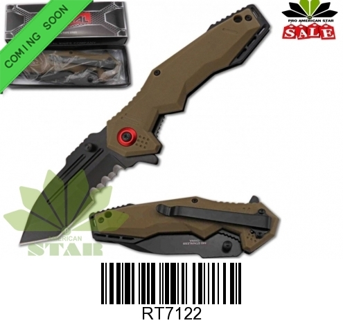 Spring Assist pocket knife-J-RT7122