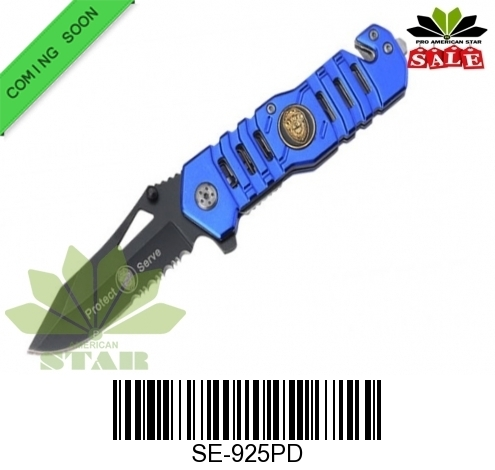 Police tactical Spring Assist knife-J-925PD
