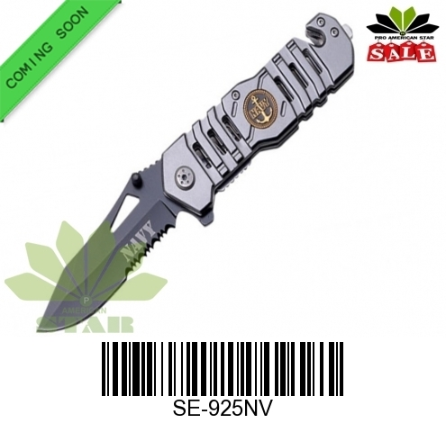 Navy Tactical Spring Assist Knife-J-925NV