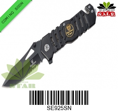 Snake Eye Tactical Spring Assist Knife-J-SE925SE