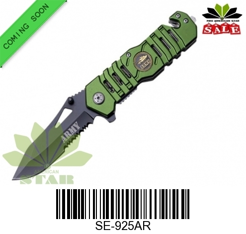 Army Tactical Spring Assist knife-J-925AR