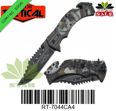 Spring Assisted Tactical knife-J7044