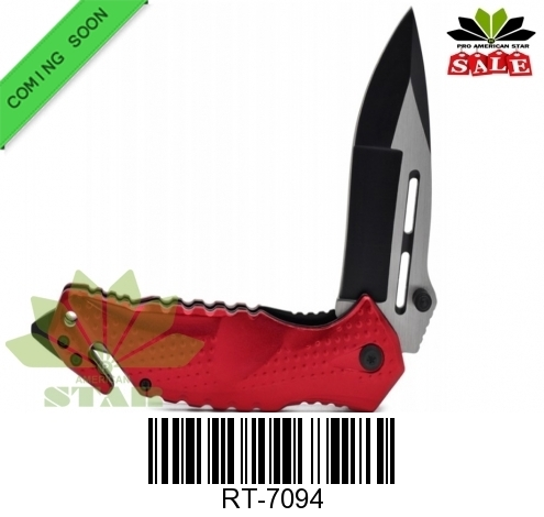 Spring Assisted Tactical folding knife-J-7094