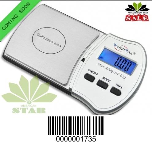 200g Smart Oval head Digital Pocket Scale-JK-1735
