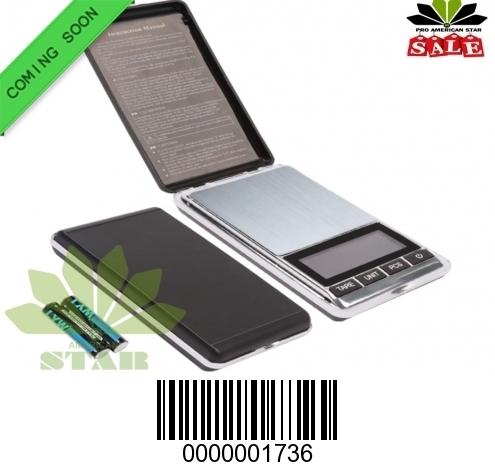 100g Flipup Cover Digital Smart Pocket Scale-JK-1736