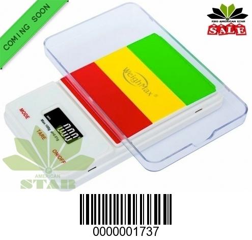 100g Rasta color  digital Pocket Scale-JK-1737