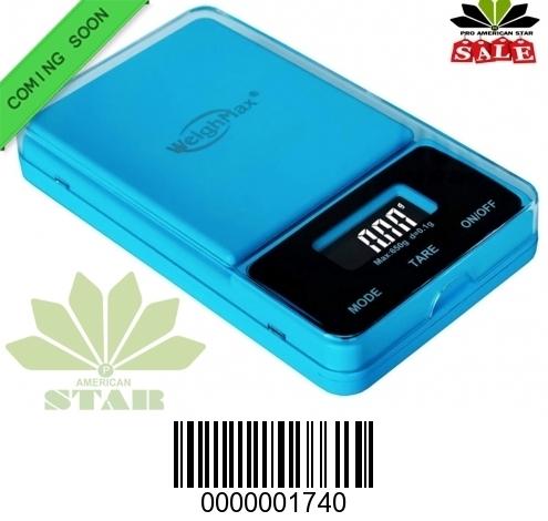 650g Blue color Flip off Digital Pocket Scale-JK-1740