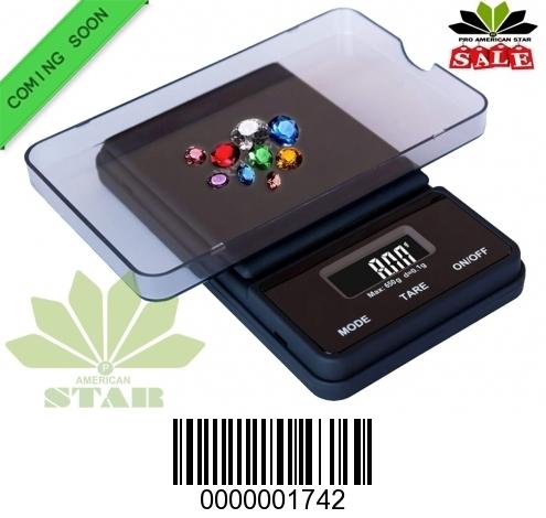650g Black body Flip off Digital Pocket Scale-JK-1742