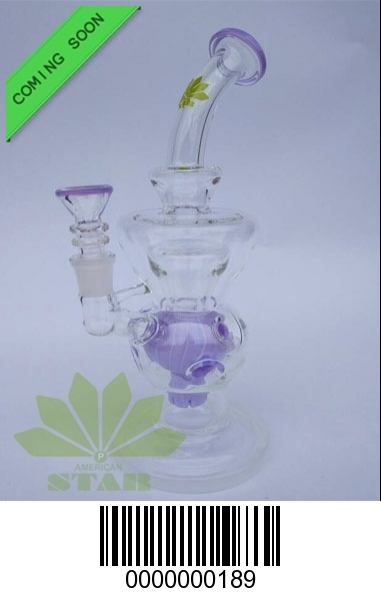 9 inches Fab Off  style, circle filtration oil rig-BL189