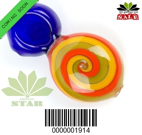 Multicolor heat resistant candy handpipe-VJ-1914