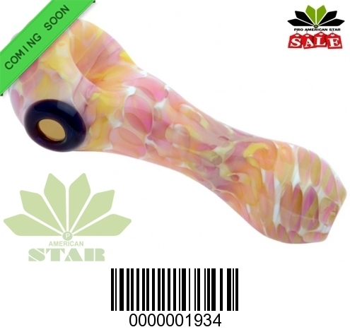 Multi Color mix pattern hand pipe-VJ-1934