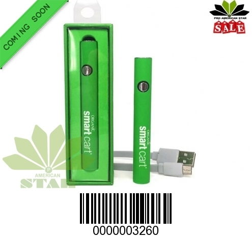 Samrt Cart Battery variable voltage 380mAh preheat mode-VK-3260