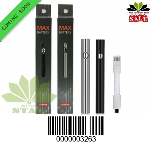 380 mAh Max variable voltage battery-VK-3263