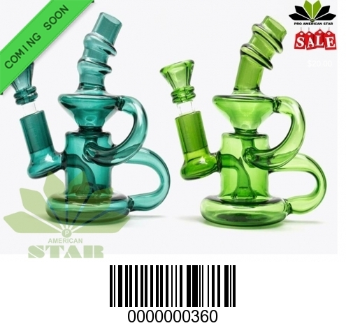 Clear Oil rig with both side tube-BL-360