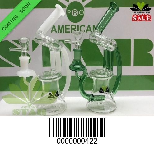Wormhole recycler Oil Rig Green-DV-422