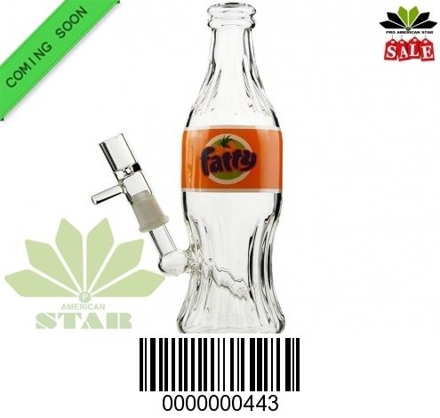 Hi Tech Fatty  Oil Rig bottle bong- JK-443
