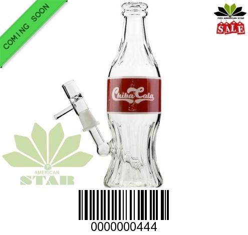 Hi Tech Chiba Cola bottle,  Oil Rig bottle bong- JK-444