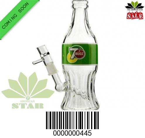 Hi Tech 7-Budz  Oil Rig bottle bong- JK-445