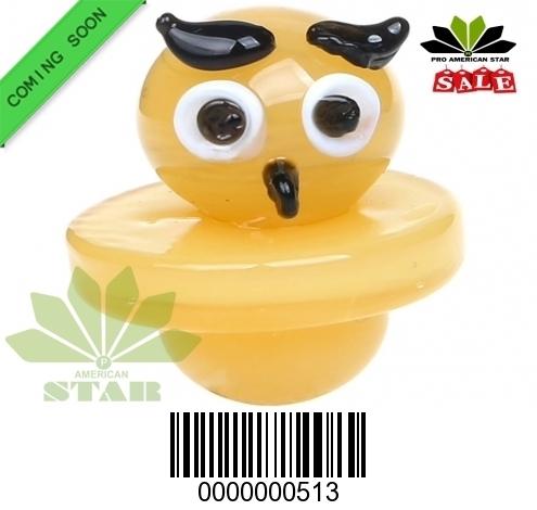 Colorful Universal Owl face  Carb Cap-JK-513