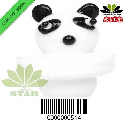 Universal Panda face  Carb Cap-JK-513