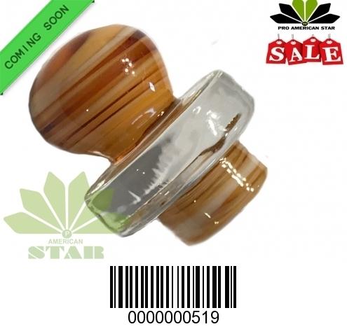 New Brown marble  Style Carb Cap Quartz Carb cap for all banger-JK-519