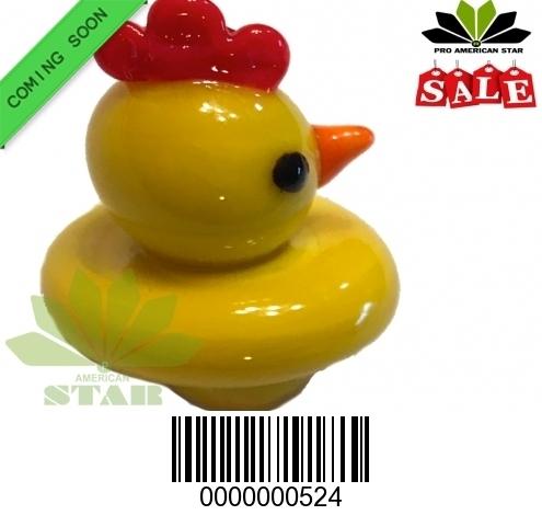 New Yellow  Duck Carb Cap Quartz Carb Cap-JK-524