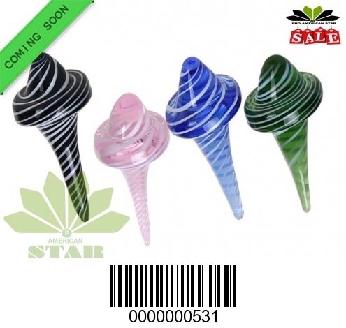 New Cone shape  quartz Carb Cap  -JK-531