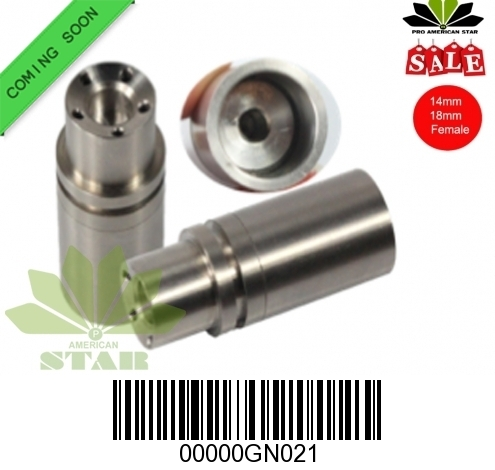 Domeless 14,18mm female straight titanium nail-JK-GN021