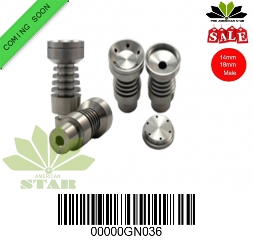 Domeless 14mm,18mm titanium nail with big bowl-JK-GN036