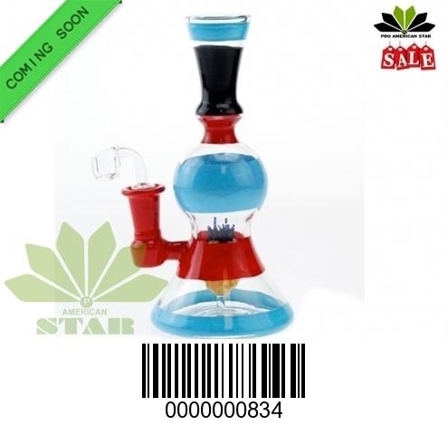 Multi Functional chamber perc color banger Hanger Water pipe-JK-834