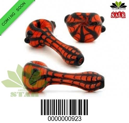 Spider man pattern handblown Handpipe-VJ-923
