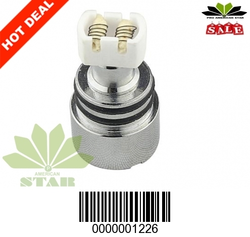 510 thread Dual Wick Ceramic coil for Wax-JK-1226