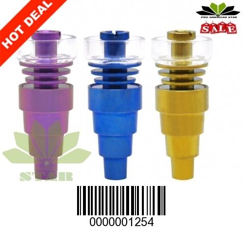 Six in One Domeless Quartz Dish Titanium nail-JK-1254