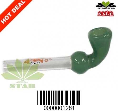 Thick Color bowl Sherlock hand Pipe-JK-1281